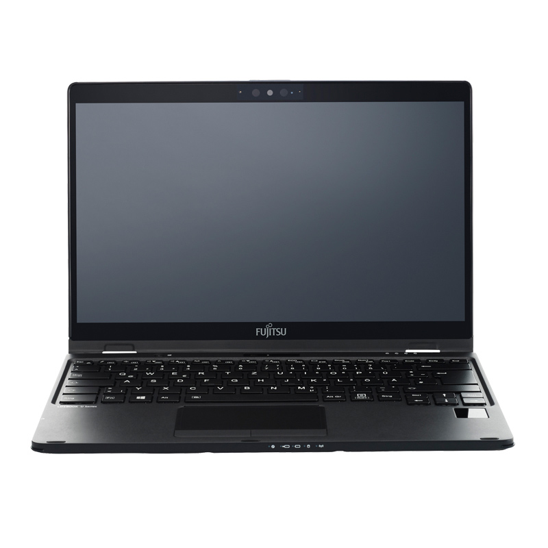 Business IT: Fujitsu Notebook U939X Frontansicht