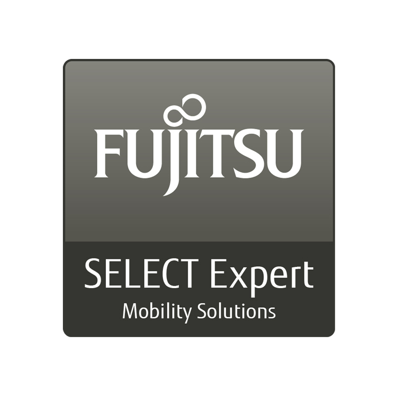 Business IT: Fujitsu Partner Logo SELECT Expert Mobility Solutions