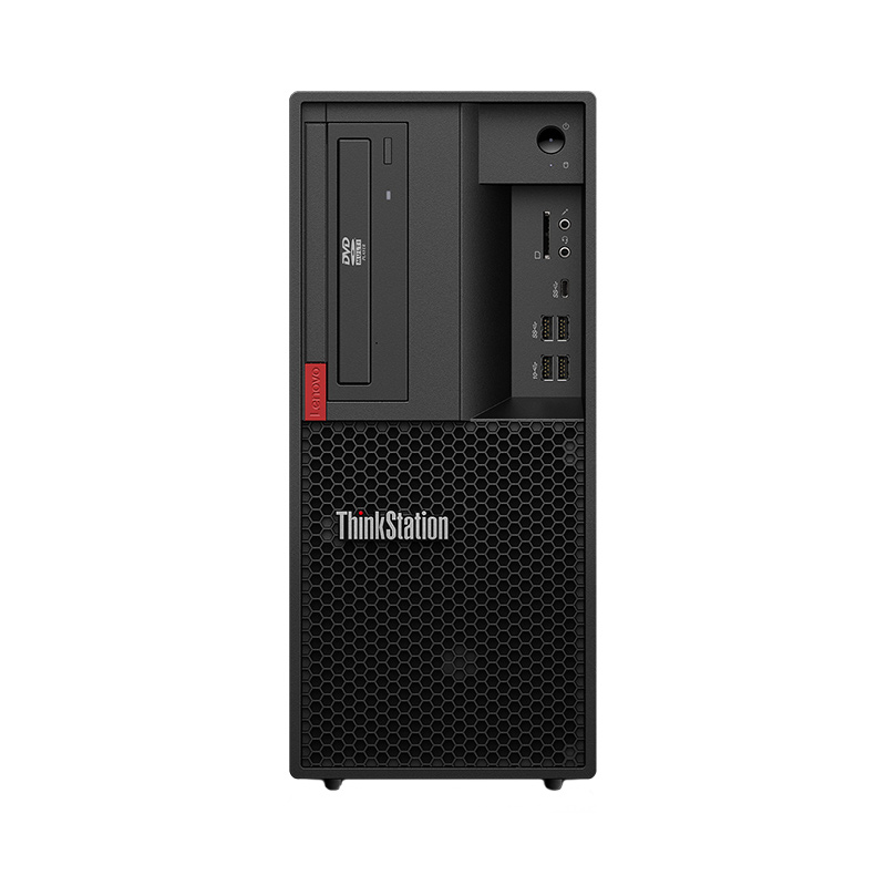 Business-IT: Lenovo Workstation P330 Frontansicht