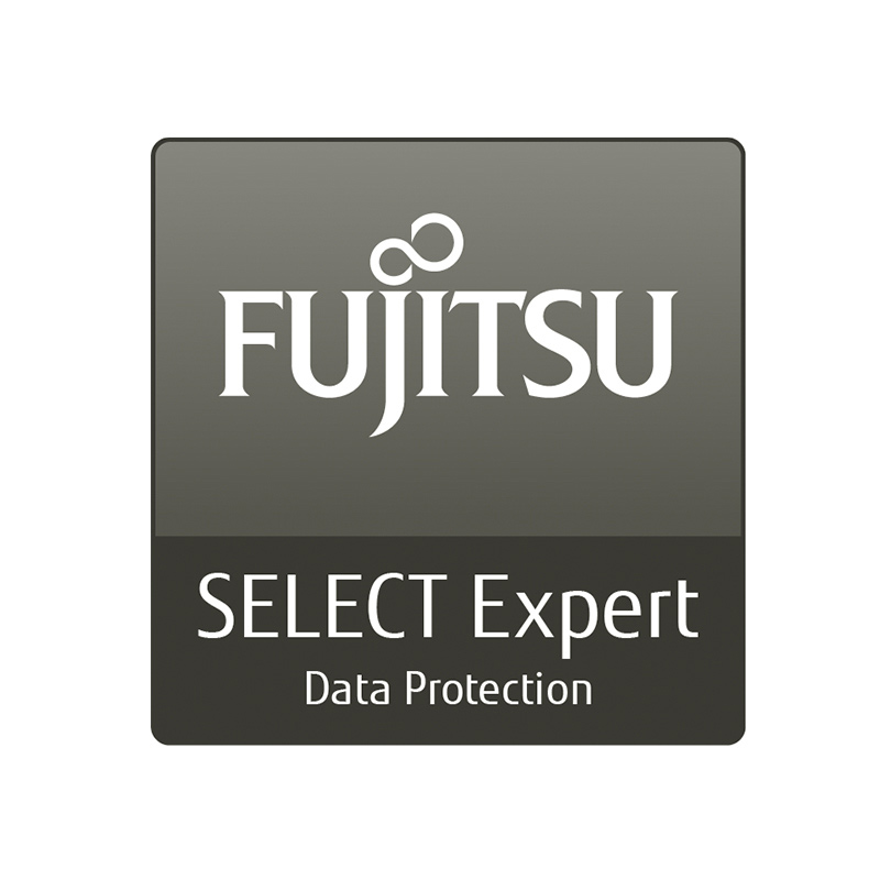 Server Beratung: Fujitsu Server Logo SELECT Expert Data Protection